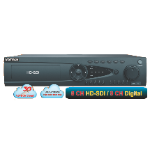 Đầu Ghi Hình VDTech 8 Kênh HD-SDI. VDT-3600SDI