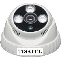 Camera IP Dome hồng ngoại 1.0MP TISATEL TS-IP 6210E