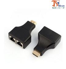 Bộ HDMI kéo dài bằng cáp mạng UTP 4Pairs (CAT5/CAT6)