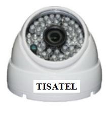 Camera IP Dome hồng ngoại 1.0MP TISATEL TS-IP 6710