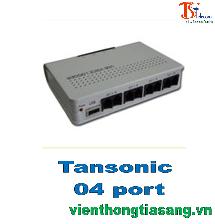 Hộp box ghi âm điện thoại Tansonic 4 port TX2006U4