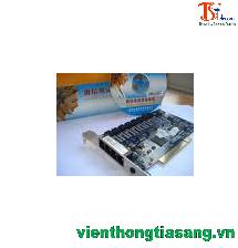 Card ghi âm điện thoại bàn Tansonic 4 port, PCI
