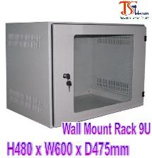 Tủ mạng treo tường Wall Mount Rack 9U Tisatel TS-9WM