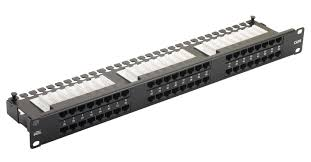 PATCH PANEL 24 PORT, CAT 6