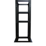TỦ RACK 27U 600 X 800 4 POSTS OPEN RACK, BLACK