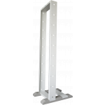 TỦ RACK 27U 2 POSTS OPEN RACK, LIGHT GREY