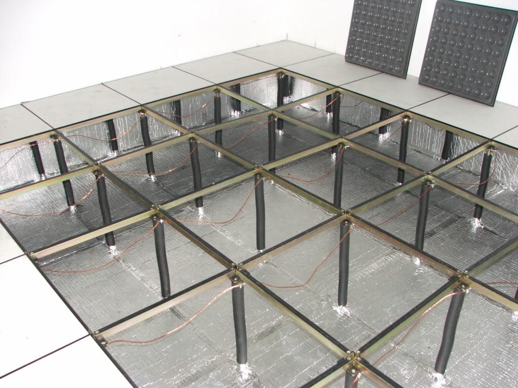 Hệ Thống Sàn Nâng Cho Phòng IT - Server